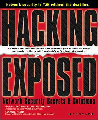 Image for Hacking Exposed: Network Security Secrets & Solutions (Hacking Exposed)