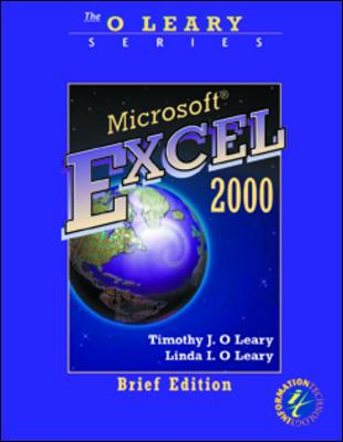 Image for O'Leary Series:  Microsoft Excel 2000 Brief Edition