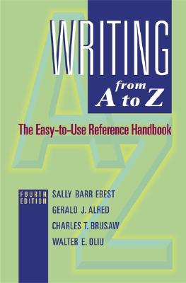 Image for Writing from A to Z: MLA Update Version