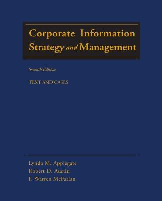 Image for CORPORATE INFORMATION STRATEGY AND MANAGEMENT