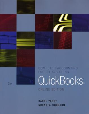 Image for Computer Accounting Essentials Using Quickbooks Online Edition
