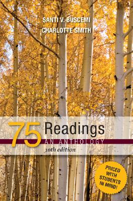 Image for 75 Reading: An Anthology