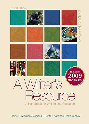 Image for A Writer's Resource: A Handbook for Writing and Research (Plastic Comb)