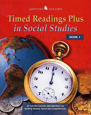 Timed Readings Plus in Social Studies: Book 2, McGraw-Hill - Jamestown Education; McGraw-Hill - Jamestown Education, Glencoe/