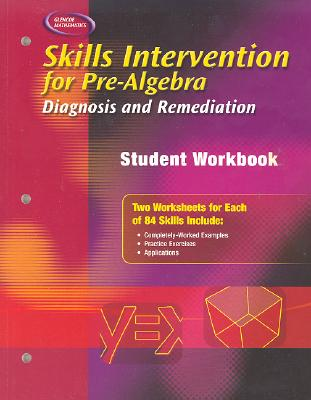 Image for Skills Intervention for Pre-Algebra: Diagnosis and Remediation, Student Workbook (MERRILL PRE-ALGEBRA)