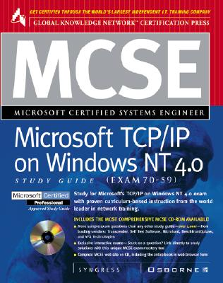 Image for MCSE Microsoft TCP/IP on Windows NT 4.0 Study Guide (Exam 70-59)