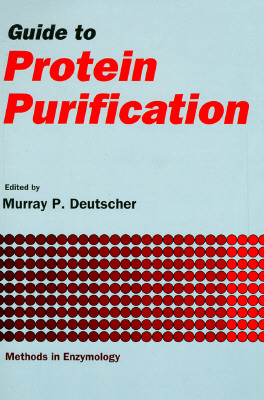 Image for GUIDE TO PROTEIN PURIFICATION METHODS IN ENZYMOLOGY VOLUME 182