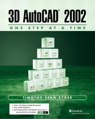 Image for 3D AutoCAD 2002: One Step at A Time