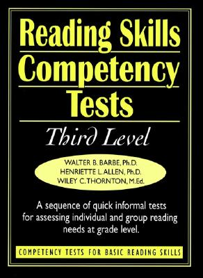 Image for Reading Skills Competency Tests: Competency Tests for Basic Reading Skills (J-B Ed: Ready-to-Use Activities) (v. 4)
