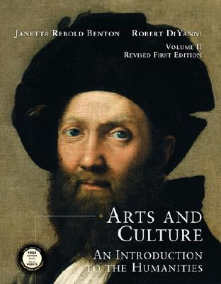 Image for Arts and Culture: An Introduction to the Humanities (Volume II, Revised with CD-ROM)