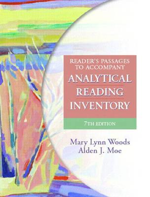 Image for ANALYTICAL READING INVENTORY COMPREHENSIVE ASSESSMENT FOR ALL STUDENTS INCLUDING GIFTED AND REMEDIAL