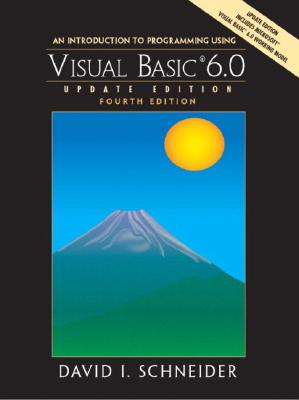 Image for An Introduction to Programming with Visual Basic 6.0, Update Edition (4th Edition)