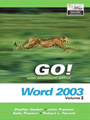 Image for GO! with Microsoft Office Word, Volume 2 and Student CD Package