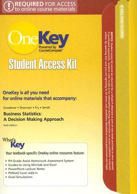 OneKey CourseCompass, Student Access Kit, Business Statistics, Pearson Prentice Hall