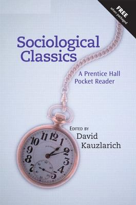 Image for Sociological Classics: A Prentice Hall Pocket Reader