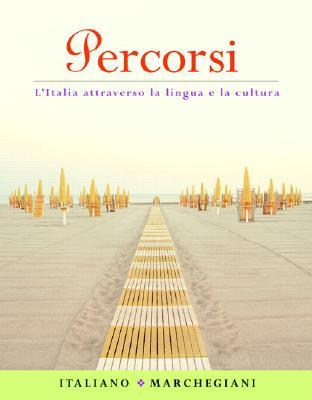 Image for Percorsi: l'Italia attraverso la lingua e la cultura