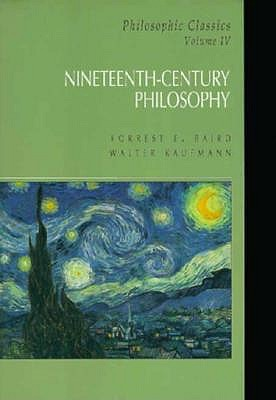 Image for Philosophic Classics: Vol. IV: Nineteenth Century Philosophy