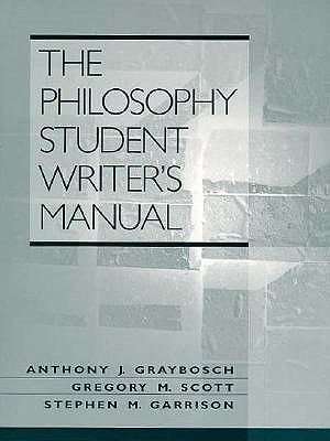Image for The Philosophy Student Writer's Manual