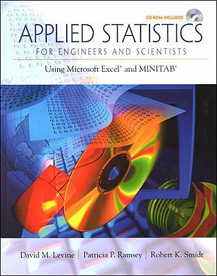 Image for Applied Statistics for Engineers and Scientists: Using Microsoft Excel & Minitab