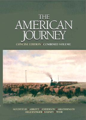Image for The American Journey: Concise Edition, Combined Volume