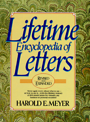 Image for Lifetime Encyclopedia of Letters