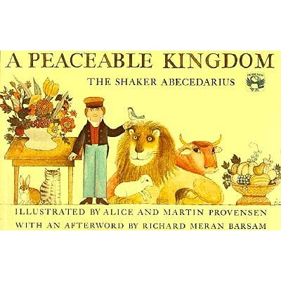 Image for A Peaceable Kingdom: The Shaker Abecedarius (Picture Puffins)