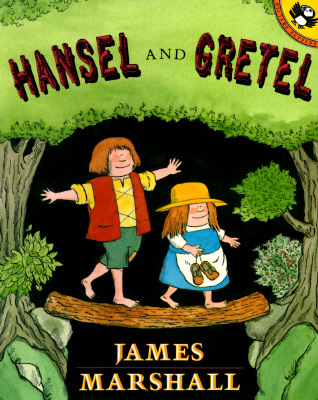 Hansel and Gretel (Picture Puffins), Marshall, James