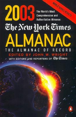 Image for NEW YORK TIMES ALMANAC 2003