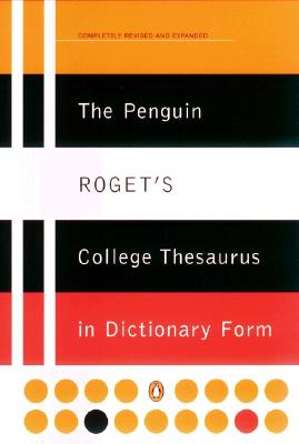 Image for The Penguin Roget's College Thesaurus in Dictionary Form (Reference)