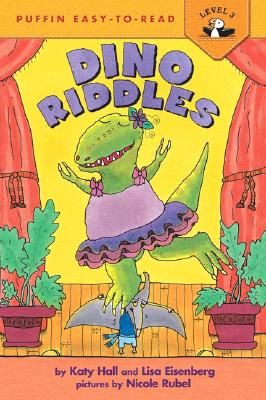 """Dino Riddles (Puffin Easy-To-Read), """"Eisenberg, Lisa, Hall, Katy"""""""