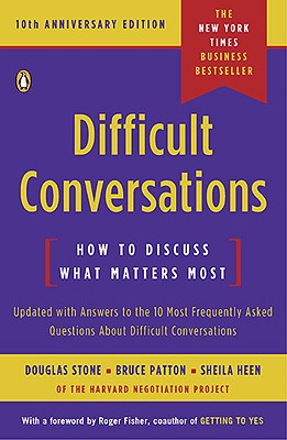 Image for Difficult Conversations: How to Discuss What Matters Most