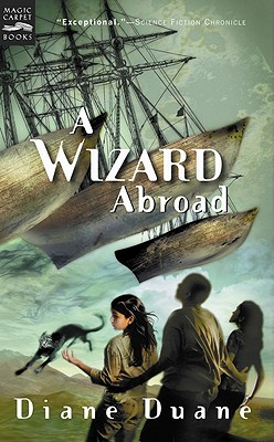 Image for A Wizard Abroad: The Fourth Book in the Young Wizards Series