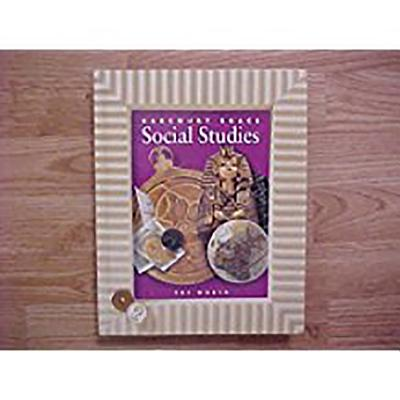 Image for Harcourt School Publishers Social Studies: Student Edition  The World Grade 6 Hb Social Studies 2000