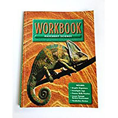 Image for Harcourt Science Grade 4 Units A-F Workbook