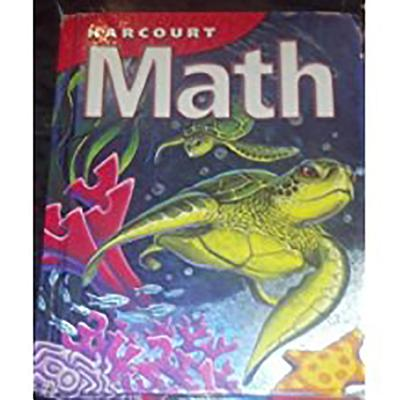 Image for Harcourt School Publishers Math: Student Edition Grade 4 2002