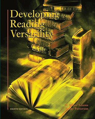 Image for Developing Reading Versatility