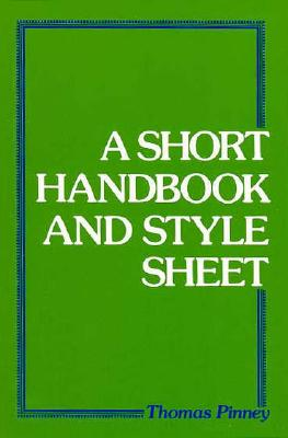 Image for Short Handbook And Style Sheet