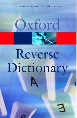 Image for The Oxford Reverse Dictionary
