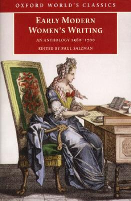 Image for Early Modern Women's Writing: An Anthology 1560-1700 (Oxford World's Classics)