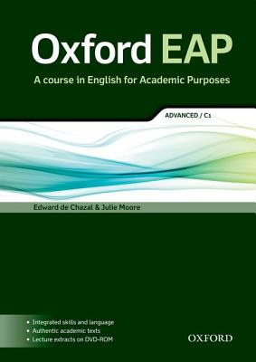 Image for Oxford EAP: Advanced/C1: Student's Book with DVD-ROM