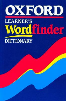Image for Oxford Learner's Wordfinder Dictionary