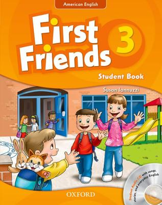 Image for First Friends (American English): 3: Student Book and Audio CD Pack: First for American English, first for fun!