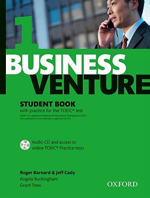 Business Venture 1 Elementary: Student's Book Pack (Student's Book + CD), Barnard, Roger B.,  Cady, Jeff,  Buckingham, Angela,  Trew, Grant