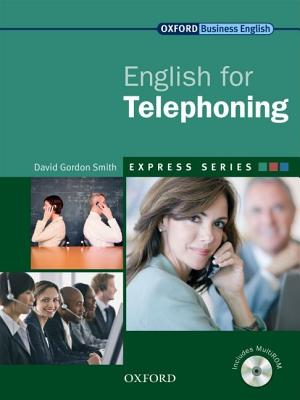 Image for English for Telephoning Student's Book and MultiROM  A Short, Specialist English Course