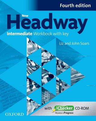 Image for New Headway Intermediate 4th Edition Workbook + iChecker with Key