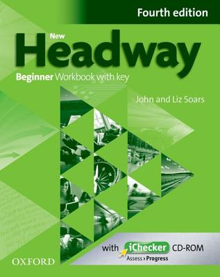 Image for New Headway Beginner Workbook + iChecker with Key 4th Edition
