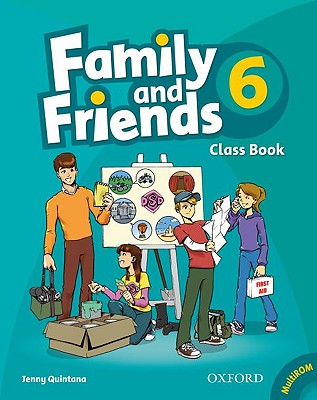 Family and Friends 6: Classbook and Multi-ROM Pack, Quintana, Jenny