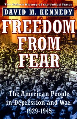 Image for Freedom from Fear: The American People in Depression and War, 1929-1945 (Oxford History of the United States)