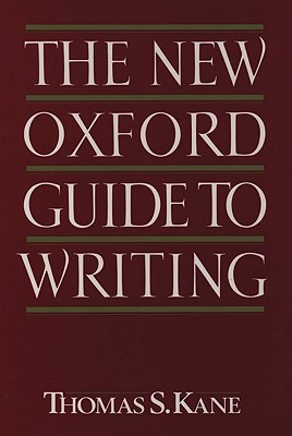 Image for The New Oxford Guide to Writing