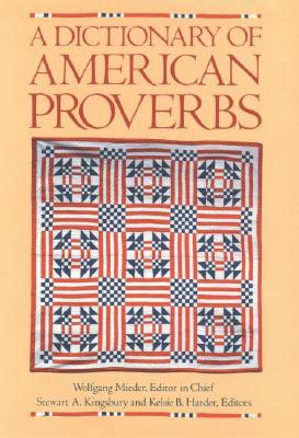 Image for A Dictionary of American Proverbs
